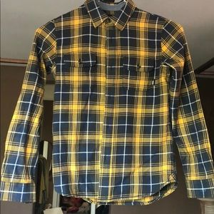 Vans Boys long sleeve plaid shirt